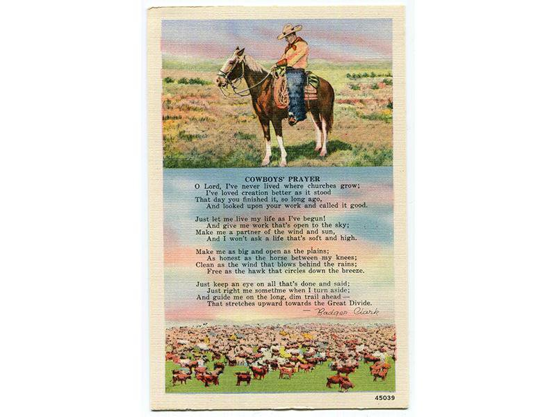 Saddle Up With Badger Clark, America's Forgotten Cowboy Poet