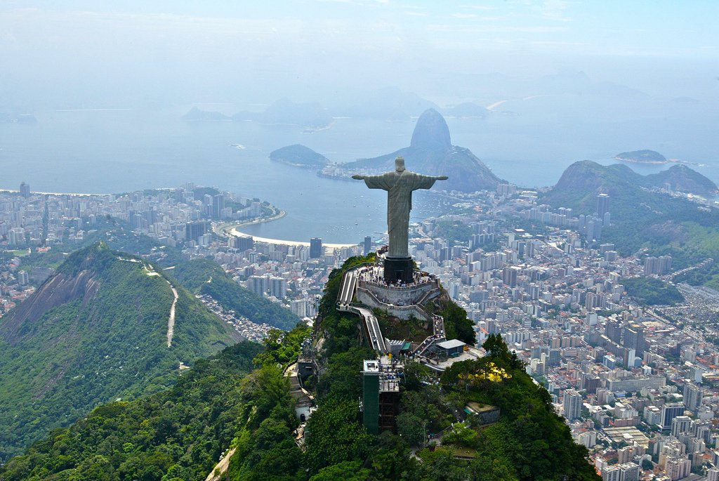 """Rio's Christ the Redeemer statue in better weather. Photo: <a href=""""http://www.flickr.com/photos/30974608@N02/7796120074/"""">Terry George</a>."""