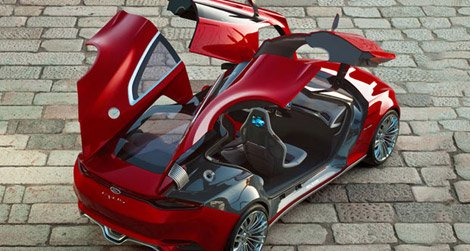 Will the Ford EVOS remain just a concept car?
