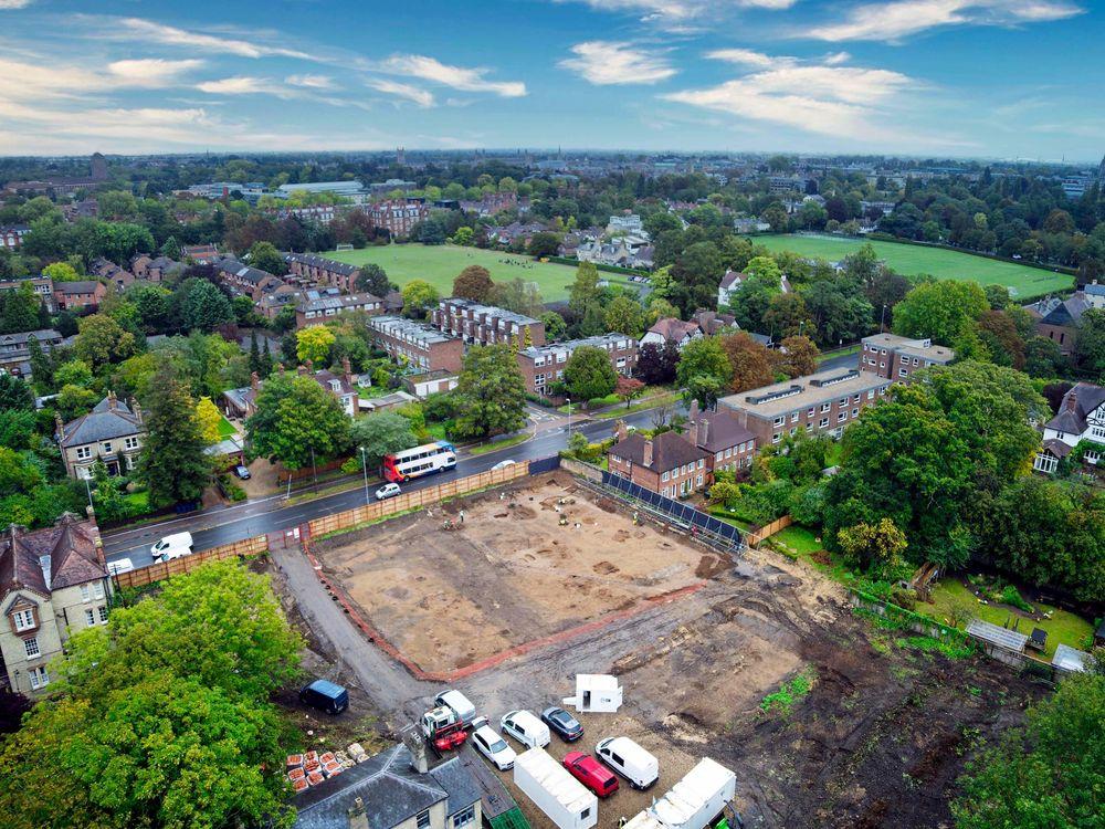Anglo-Saxon graveyard found in Cambridge, England