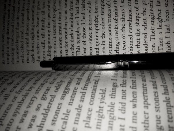 A Book writing on a pen thumbnail
