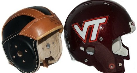 plastic helmets reduce the risk of concussions
