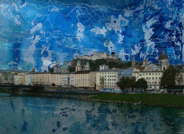 Abstract came to Salzburg thumbnail