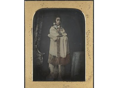 This 1846 daguerreotype is likely the oldest surviving photograph of a Māori person.