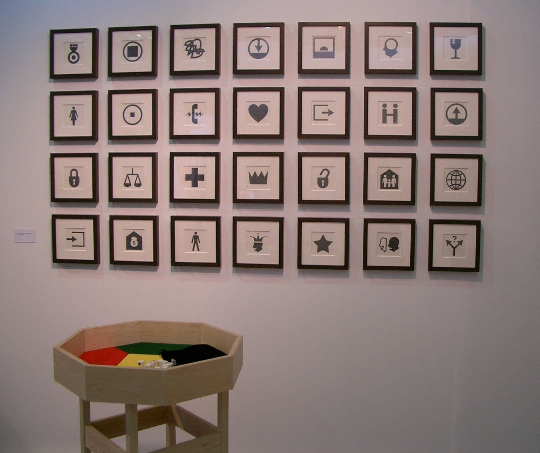 The exhibition Your Fate at the Christine Burgin Gallery in 2004.