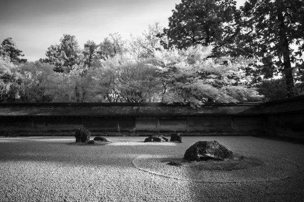 Conversing with the stones in Ryoan-ji temple thumbnail