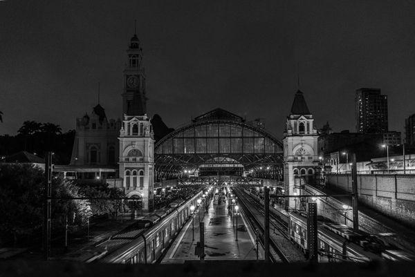 Luz Station at São Paulo city thumbnail