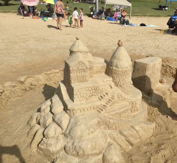 An artistic sandcastle  thumbnail