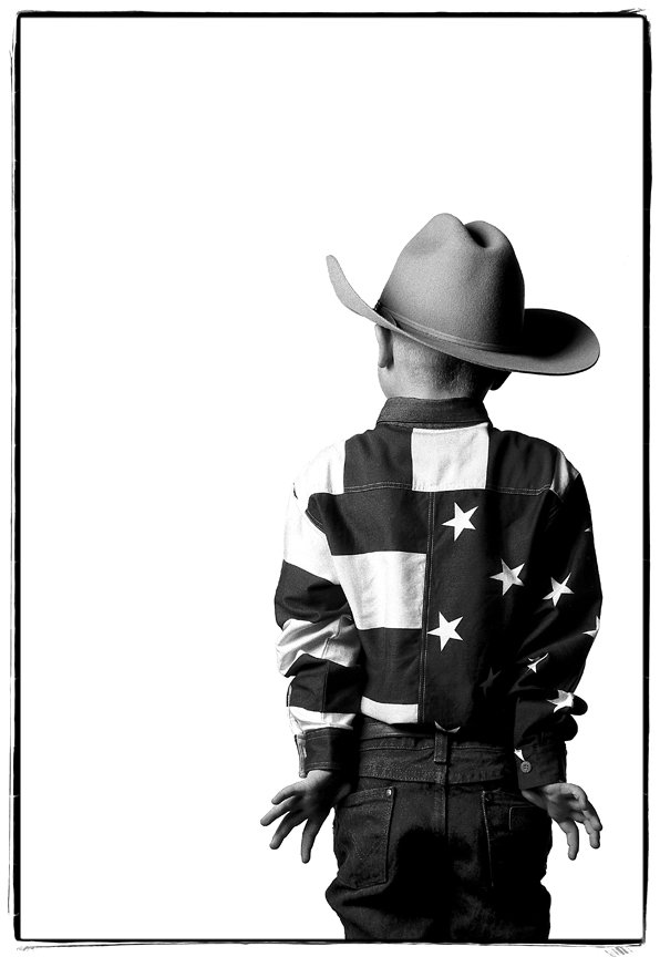 The littlest cowboy at the National Western Stock Show in Denver, Co. thumbnail
