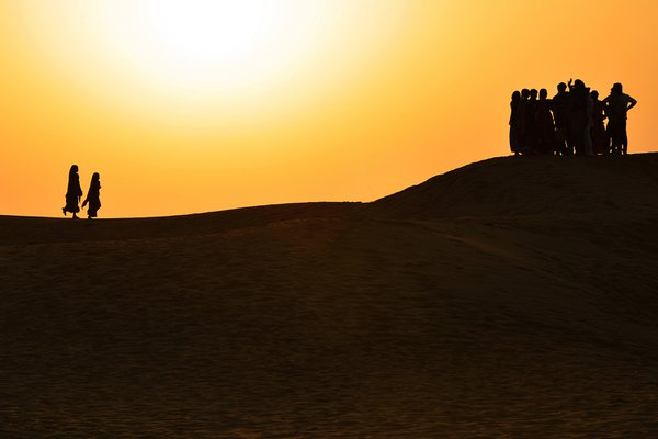 EVENING IN SAM SAND DUNES-RAJASTHAN-1 thumbnail