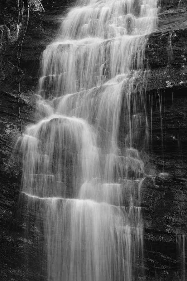 Detail of the Andrew Ramey waterfall  thumbnail