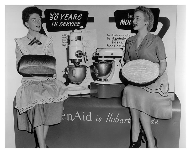 For 100 Years, KitchenAid Has Been the Stand-Up Brand of Stand Mixers