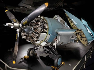 The F4F Wildcat, a carrier-based aircraft, saw service from the surprise attack at Pearl Harbor in 1941 to the Japanese surrender aboard the USS Missouri nearly four years later.