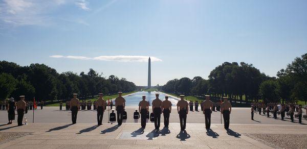 USMC Sunset Parade  thumbnail
