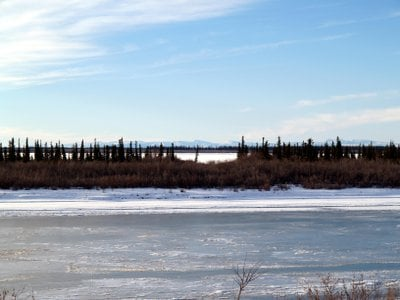The Mackenzie (Dehcho) River is the second-largest river system in North America.