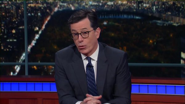Preview thumbnail for Stephen Colbert Congratulates OK Go on Winning the 2016 American Ingenuity Award for Visual Arts