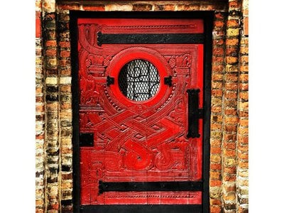 While many people have walked by the red door on Chicago's Wells Street, very few—likely less than one or two thousand—have ever gotten a chance to see what's behind it.