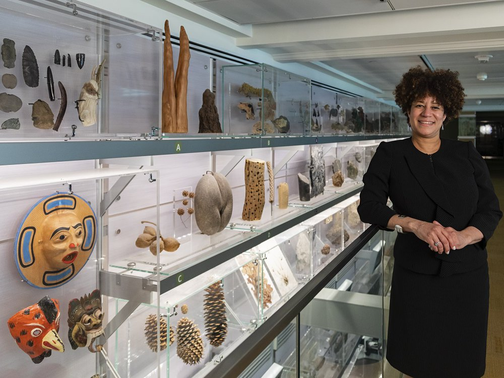 The Smithsonian's National Museum of Natural History welcomes its new Head of Education, Outreach and Visitor Experience, Carla Easter. (James Di Loreto, Smithsonian Institution)