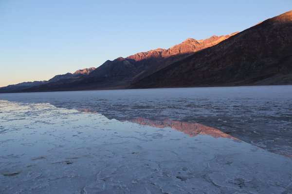 Lake Manly, Badwater Basin, Death Valley National Park thumbnail