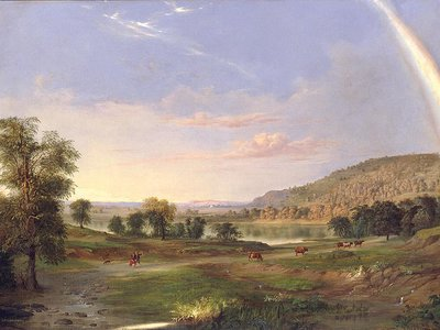 Chosen for the 2021 inauguration, this 1859 painting by the African American artist Robert Duncanson depicts the promise of America.