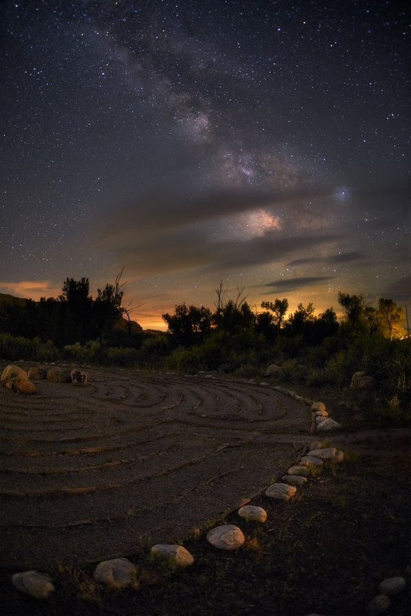 The labyrinth at the Ghost Ranch thumbnail