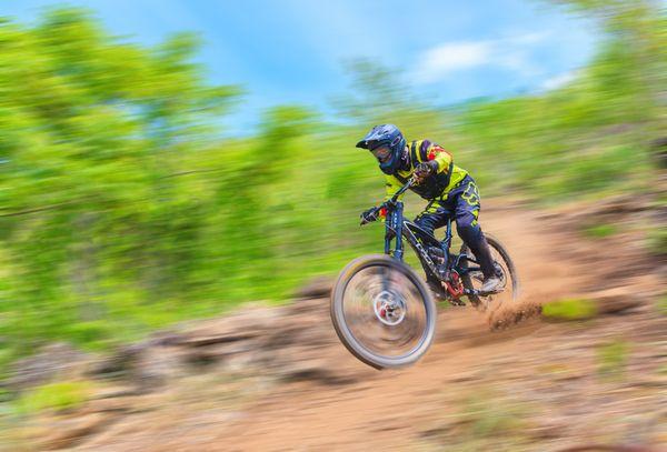 Cycling Downhill thumbnail