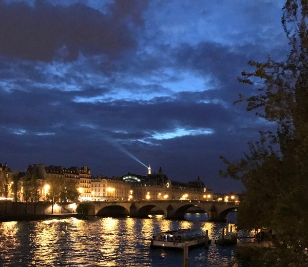 The Seine at Night thumbnail