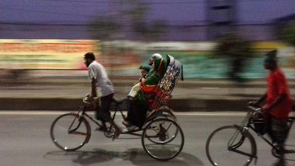 A rickshaw and passenger thumbnail