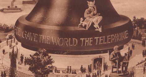 Hugo Gernsback's 1922 proposal for a monument to Alexander Graham Bell