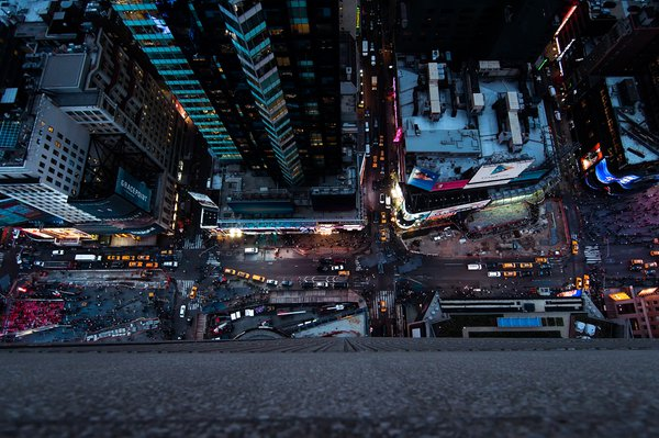 Plebeians (Life from above Times Square) thumbnail