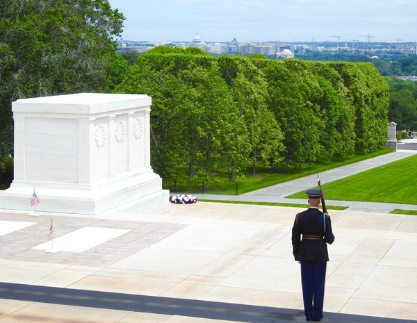 Tomb of the Unknown overlooking DC--Memorial Day 2016 thumbnail