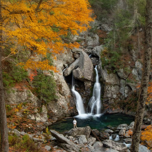 Autumn at Bash Bish Falls thumbnail