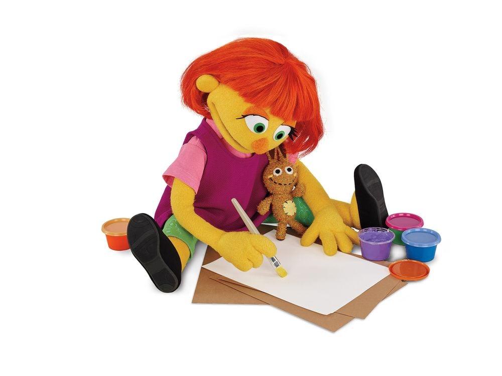 Sesame Street & Julia