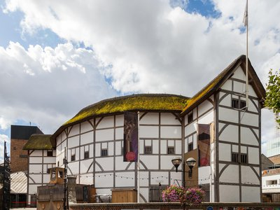 Shakespeare's Globe is a meticulous replica of the Elizabethan theater where the Bard's plays were once performed.
