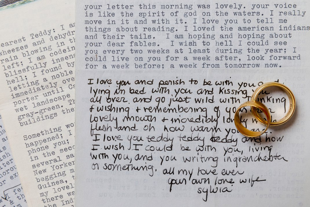 Explore Sylvia Plath's Love Letters, Recipe Cards and Tarot Deck