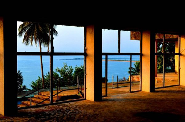 Remnants of Liberia's once posh Ducor hotel. thumbnail