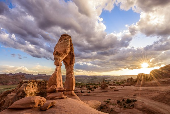 Delicate Arch Sunset thumbnail