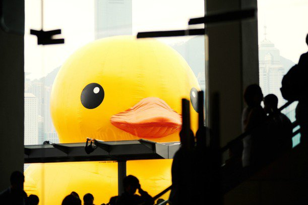 Hong Kong Fell in Love With This Larger-Than-Life Rubber Duck