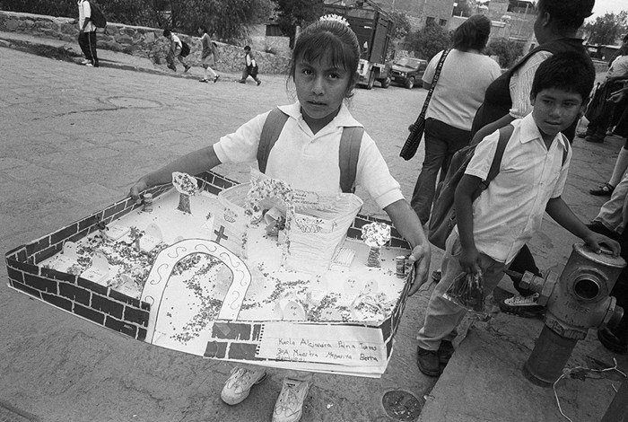 A young student of Valle de Allende