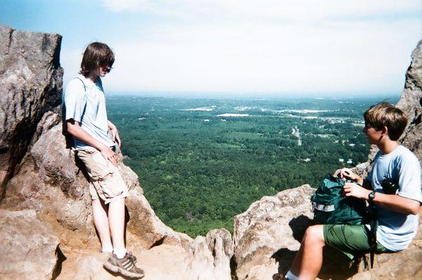 Calm view over the mountain thumbnail