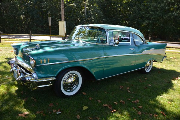 1957 Chevy at Car Show thumbnail