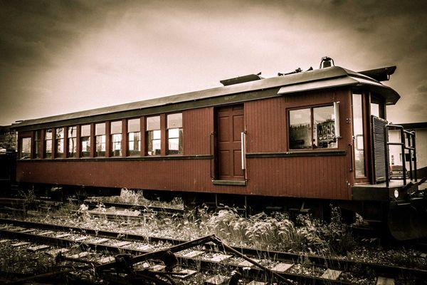 Abandoned Train Car thumbnail