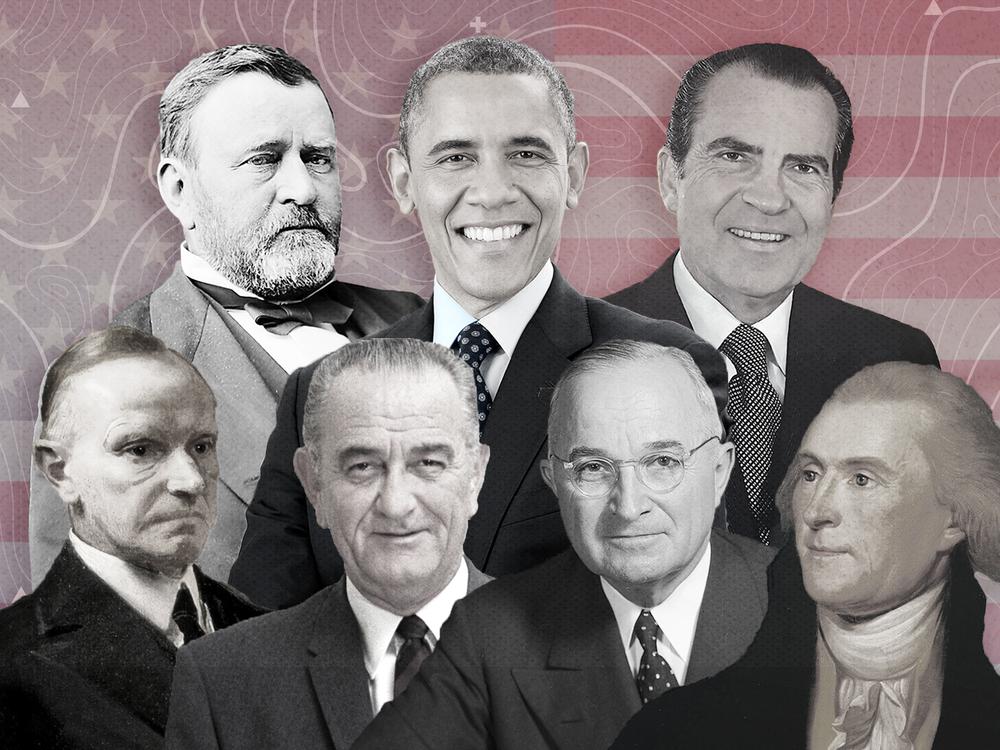 Presidential memoirs illustration