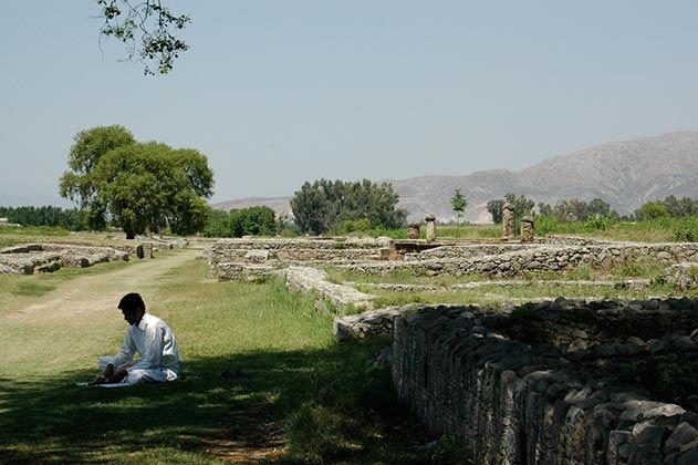 Reflections in Taxila Pakistan