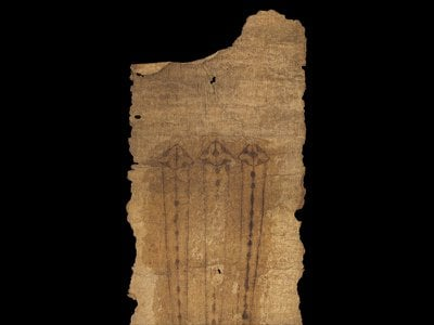 Medieval women viewed birthing girdles, or long pieces of parchment inscribed with religious invocations and drawings,  as protective talismans.