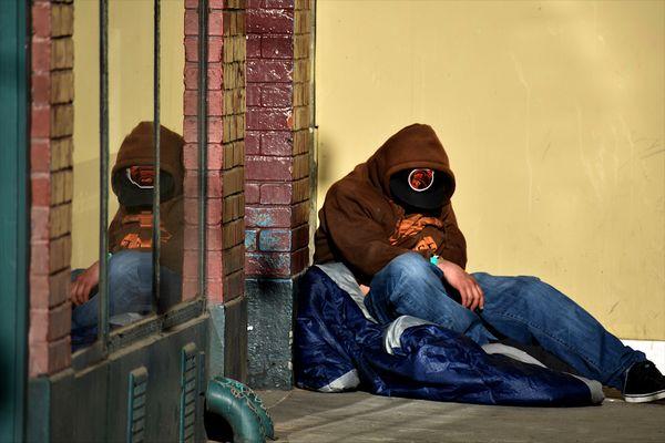 Homeless Reflection Tenderloin,SF thumbnail