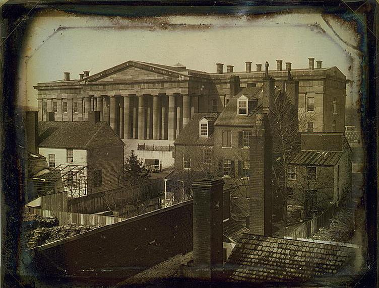 Old Patent Office Building, ca. 1846