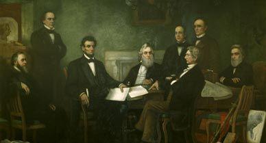Reading of Emancipation Proclamation