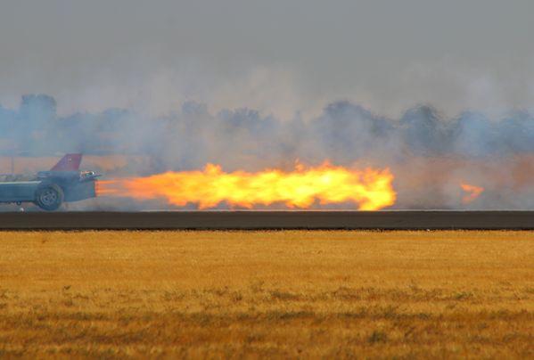 Smoke N' Thunder Jet Car at the California Capital Airshow thumbnail