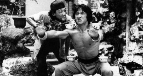 Jackie Chan stars in Drunken Master